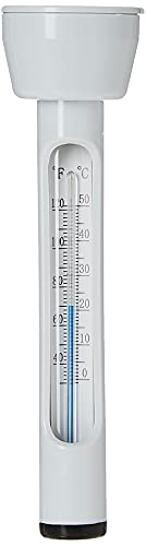 Intex Pool Thermometer - Poolzubehör - Schwimmendes Thermometer - Weiß