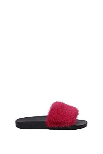 Givenchy Flip-Flops und Holzschuhe Damen - Fell (BE08209806677) 36 EU