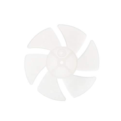 BUIDI Small Power Mini Kunststoff Lüfterflügel 4/6 Blätter für Haartrockner Motor Haartrockner Halterung 6
