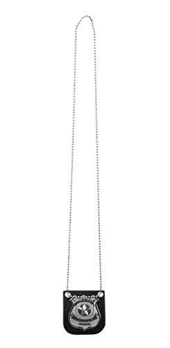 Boland-BOL64333 Collar de la Insignia de Policía, Multicolor, One Size (Ciao SRL BOL64333)