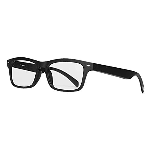 MERIGLARE Occhiali da Sole Bluetooth Intelligenti Auricolare Bluetooth Senza Fili Impermeabile Microfono Incorporato per Uomo Donna Compatibile con Smart Phone - Anti Blu-Ray