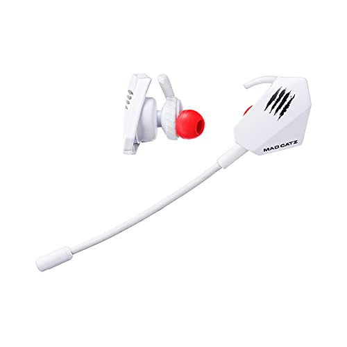 MadCatz E.S. Pro+ Gaming Earbuds, White
