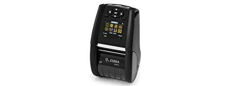 Zebra DT Printer ZQ610 2/48mm WiFi English Fonts. BT 4.x, ZQ61-AUWAE10-00 (Engelse fonts. BT 4.x Dual 802.11AC/BT4.x, gelinieerde platen, 0,75 core, schouderriem, riemclip).