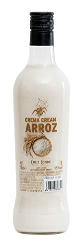 Licor Crema Arroz Cruz Conde 15º 700ml.