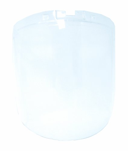 Sellstrom Replacement Window for DP4 Safety Face Shields, Anti-Fog Coating Polycarbonate, Clear Tint, S32100 Front