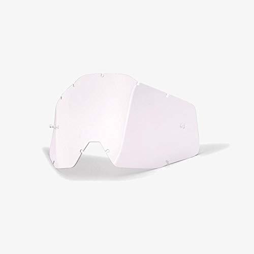 100% ACCURI/STRATA Jugend Ersatzlinse W/Posts -klar Anti-Nebel, Clear , Größe One Size