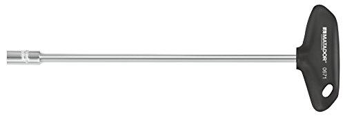 MATADOR 0671 0100 Sechskant-Steckschlüssel mit T-Griff, 10 x 230 mm