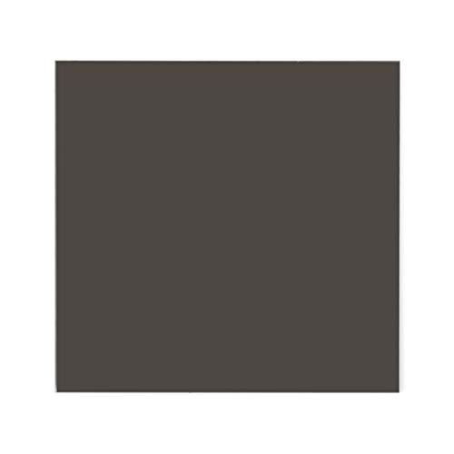 JOYKK 15 × 15cm Plexiglasplatte Farbige Acrylfolie DIY Spielzeugzubehör Modellbau - Transparent schwarz