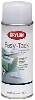 Krylon Bulk Buy Easy Tack Repositionable Adhesive Spray 10.5 Ounces 70207 (2-Pack)