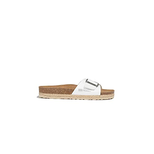 Geographical Norway GNW20419-17_38, Slides Femme, Blanc