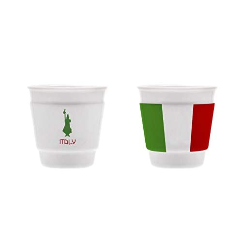 Bialetti Y0TZ061 Bicchierino Italy, Porcellana, 1 Pezzo