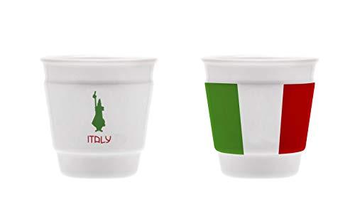 Bialetti Y0TZ061 Schnapsglas Italy, Porzellan, 1 Stück