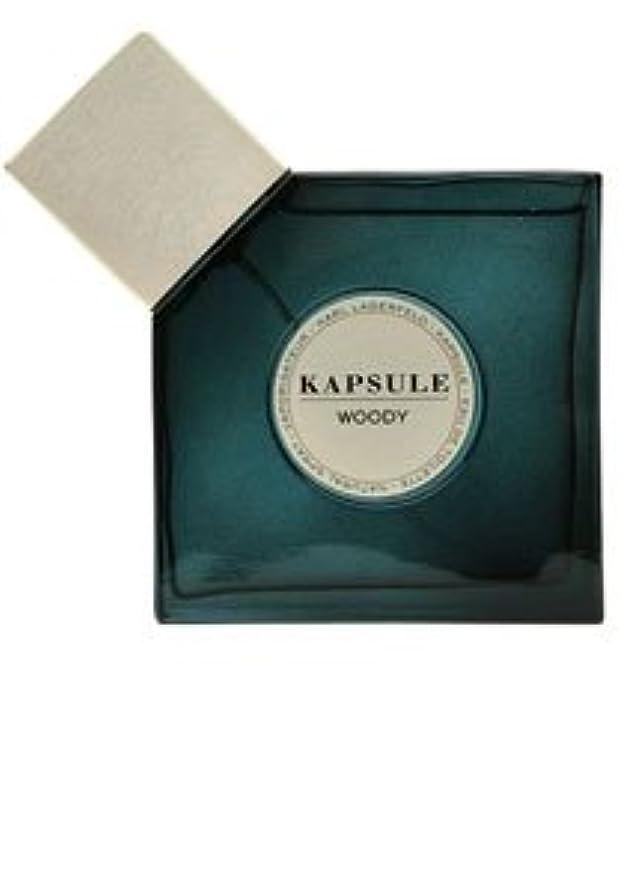 ホステル隠された取り組むKapsule Woody (カプシュール ウッディー) 2.5oz (75ml) EDT Spray by Karl Lagerfeld