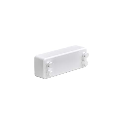 Tendederos Telescópico Invisible Estante de Secado de Baño sin Perforación Contracción Interior Ropa Secado Artefacto Balcón Secado (Color : White, Size : C)