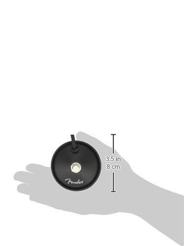 Fender 099-4049-000 Interruptor de pie de 1 botón, Negro