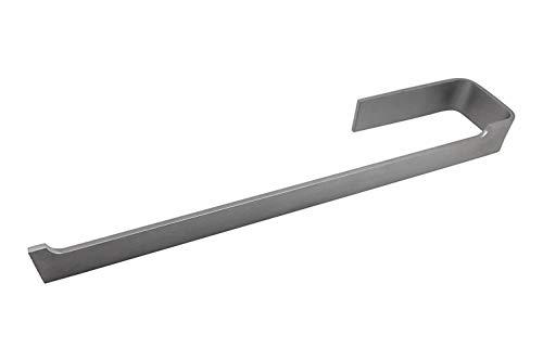 Handtuchhalter korpusmontage - Schrankmontage Edelstahl Galeara design (Edelstahl geburstet, rechts)