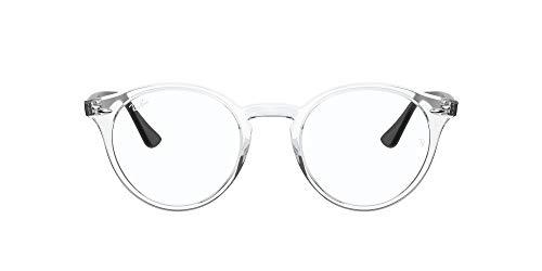 Ray-Ban 0rx2180v Gafas, TRANSPARENT, 47 Unisex