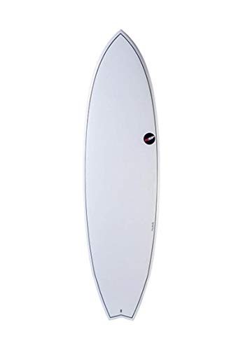 NSP Fish Element Surfboard 2020 White 7'2