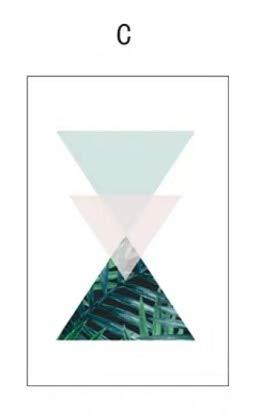 Geometrisches Muster elektrostatische Aufkleber Glasfolie benutzerdefinierte Größe Privatsphäre Schutz Vinyl Wohnkultur entfernbare und wiederverwendbare Fenster Aufkleber Wohnkultur Folie A81 60x90cm
