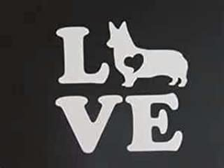 ملصق من الفينيل مطبوع عليه Chase Grace Studio Corgi LovePembroke Welsh Corgi Cardigan Welsh Cogi |أبيض| لوحة فنية جدارية ع...