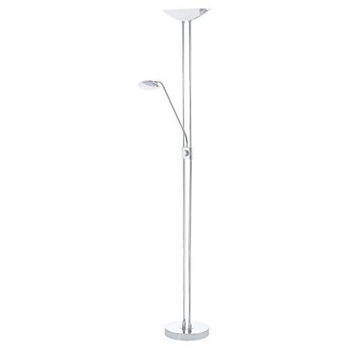 EGLO BAYA LED staande lamp, staal, 20 W, chroom