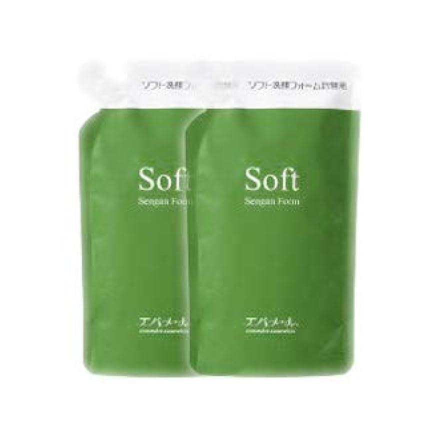 焼く恩赦ウサギエバメール ソフト洗顔フォーム 200mL 詰替え用 2個セット