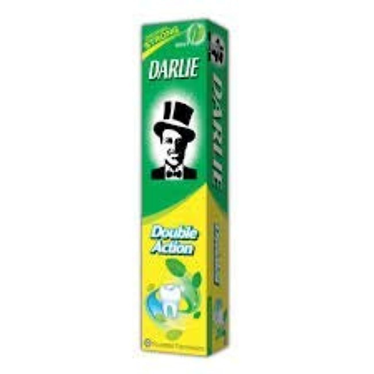 行列解き明かす対人DARLIE 歯磨き粉ジャンボ 250g-12 時間のためのより長く持続する新鮮な息を与える-効果的に経口細菌を減少させます