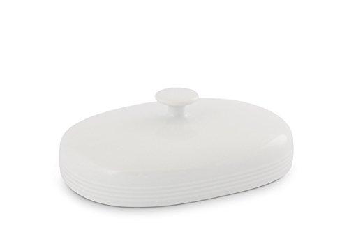 Jeverland Weiß Oberteil Butterdose 250g