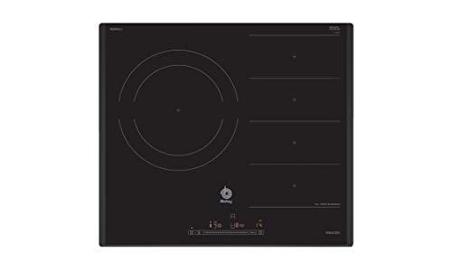 Balay 3EB969LU - Placa FlexInducción, 60 cm, 180,0 Wh/kg, Gris antracita, Control Deslizante con 17 niveles de cocción, Zona gigante de 28 cm