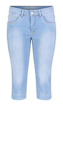 MAC Jeans Damen Hose Straight Dream Capri Dream Denim 38/19