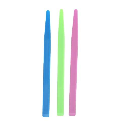 3pcs Dental Rührstab, wiederverwendbare Antihaft-Pigment-Maske-Rührstab Dentalwerkzeuge zum Mischen von Harz, Farbe