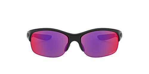 Oakley Damen Sonnenbrille, Poliertes Schwarz/Prizm Road