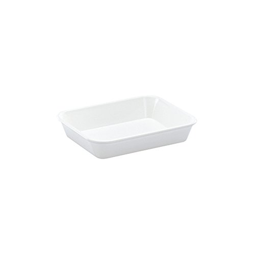 WACA® 1400-710 Auslageschale Präsentationsschale 190x150x40 mm weiß