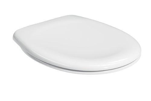 WC-Sitz Lux Compact m.Deckel weiss