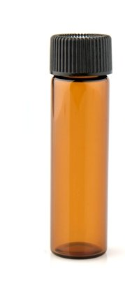 Vial Some reservation Amber with Screw 100% quality warranty! 2 DRAM 8ML Cap