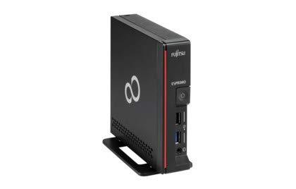 Fujitsu ESPRIMO G558 Intel® Pentium® G G5420 4 GB DDR4-SDRAM 64 GB SSD Zwart UCFF Mini PC