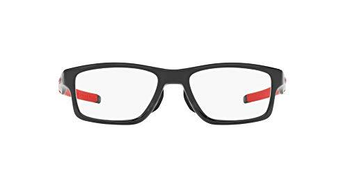 Oakley 8090, Monturas de Gafas para Hombre, Negro (Polished Black Ink), 55