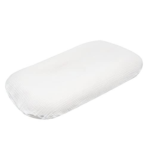 Rehomy Funda para tumbona de bebé – Funda de almohada extraíble cómoda para tumbona recién nacida acolchada