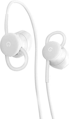 Google USB-C Wired Digital Earbud Headset for Pixel Phones - White 4