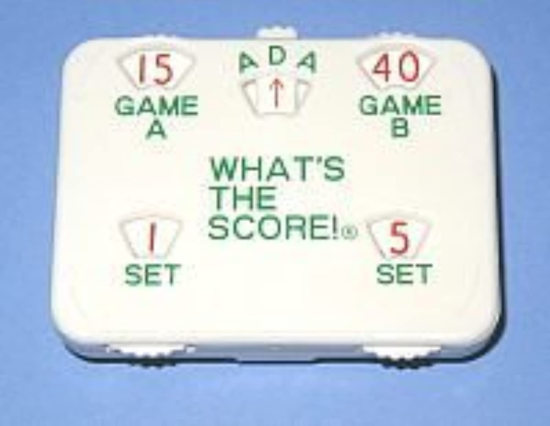Score One Tennis Lite Scorekeeper
