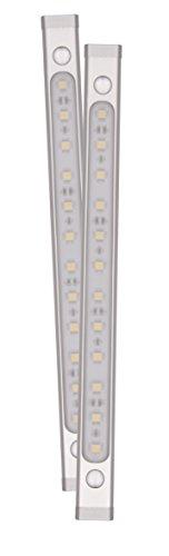 Preisvergleich Produktbild SMART LIGHT LED Unterbauleuchte je 4, 4 Watt,  2x 145 lm,  warm weiß 7000.046,  inkl. LED Treiber,  erweiterbar