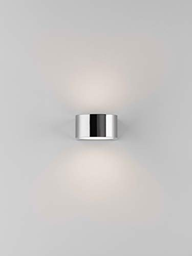 Astro 8161 Epsilon LED-Wandleuchte, poliertes Chrom