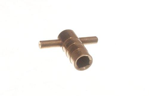 Veel van 10 Radiator Bloed Sleutel Gemakkelijk Grip T Bar Type Messing