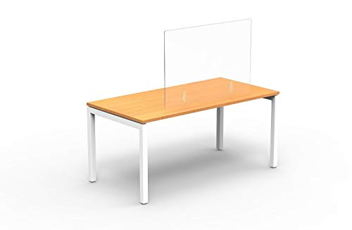 Office Hippo OHSCREEN1070CL Freistehender Displayschutz, 100 x 0.4 x 70 cm