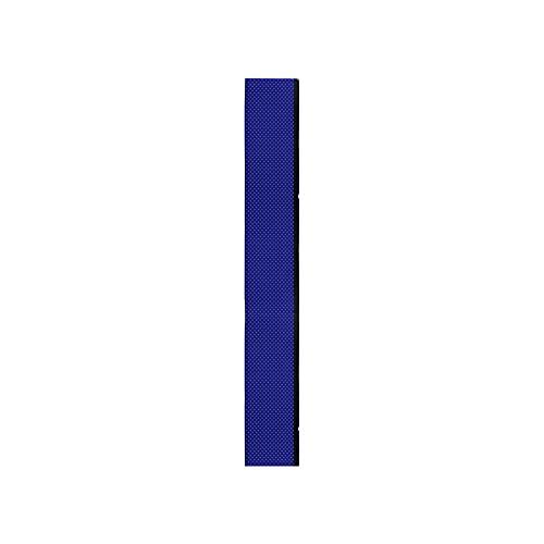MVPACKEEY 1 Paar Pool-Handlauf-Abdeckung, einfach zu installieren, für den Außenbereich, Polyester, rutschfest, blau, Größe: 122 cm