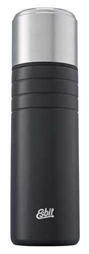 Esbit Isolierflasche Majoris | Edelstahl | BPA-Frei | Schwarz & Silber | 1L & mehr | Zu Hause, im Büro & unterwegs