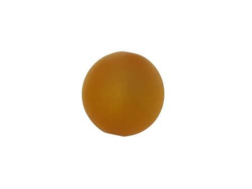 Polariskralen voor sieraden zelf maken mat 8 mm, 30 stuks, cognac