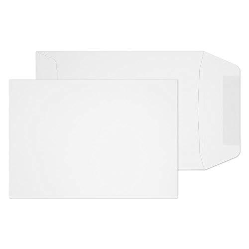 Purely Everyday 16920 Versandtasche Naßklebung Weiß C6 162 x 114 mm - 90g/m² | 1000 Stück