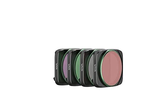 Skyreat Juego de filtros polarizador ND para lentes de cámara (ND4PL, ND8PL, ND16PL, ND32PL) compatible con DJI Air 2S Drone (paquete de 4)