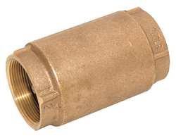 Industrial Grade 6AJY2 Check Valve, 3/4 In, Threaded, Bronze from Industrial Grade